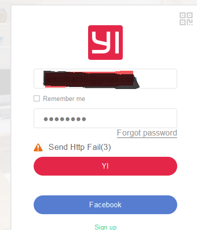 yi home app problem
